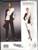 Vogue 1082 Givenchy Geometric Suit Pattern 12-14-16 UNCUT