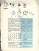 Vogue 1293 Girl Smocked Dress Pattern UNCUT