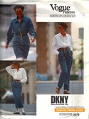 Vogue 2372 DKNY Skirt and Pants Pattern