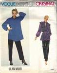 Vogue 2403 Jean Muir Evening Outfit Pattern UNCUT