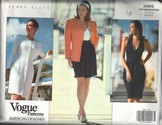 Vogue 2665 Perry Ellis 18-20-22 Wardrobe Pattern UNCUT