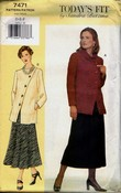 Vogue 7471 Sandra Betzina Skirt Suit Pattern