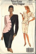 Vogue 7937 Suit Pattern 12-14-16 UNCUT