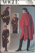 Vogue 8555 Cape Shawls Pouch Pattern