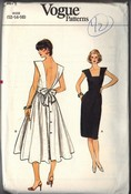 Vogue 8671 Sundress Backless 12-14-16 Pattern UNCUT