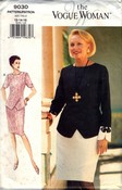 Vogue Woman 9030 Skirt Suit Pattern