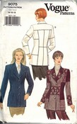 Vogue 9075 Blazer Jacket Pattern