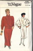 Vogue 9124 TopSkirt Sewing Pattern UNCUT