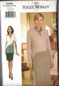 Vogue 9286 Jacket Dress 18-20-22 UNCUT