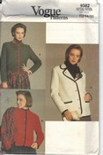 Vogue 9382 Austrian Boiled Wool Jacket Pattern