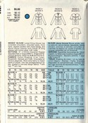 Vogue 9627 Blouse Pattern Classic Style