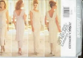 Butterick 4315 Jessica Howard Sewing Pattern UNCUT