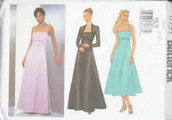 Butterick 6534 Evening Gown Sewing Pattern UNCUT