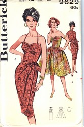 Butterick 9629 Dress and Jacket Sewing Pattern